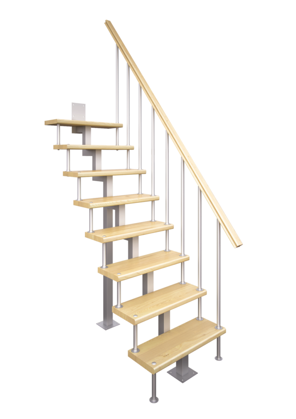 Модульная Лестница Линия-Квадро