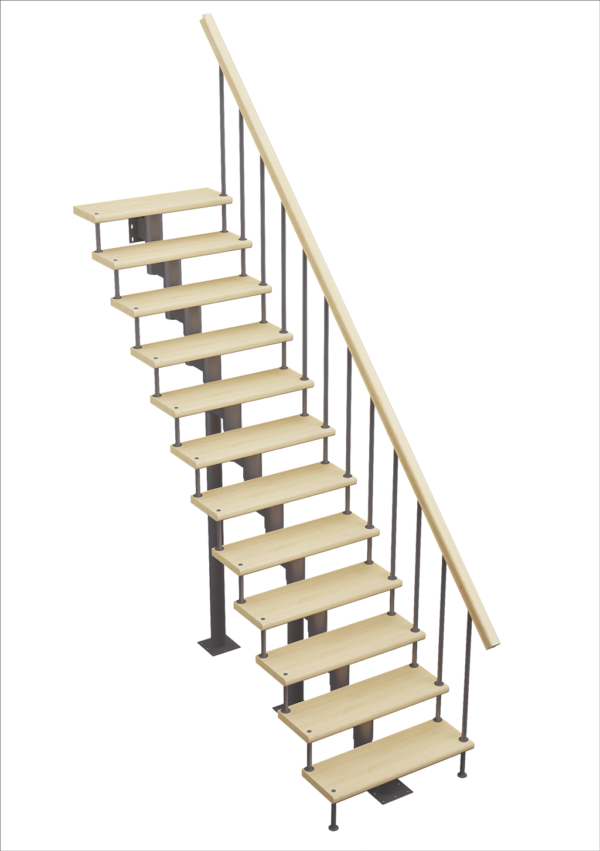 Модульная лестница Стандарт – Классик