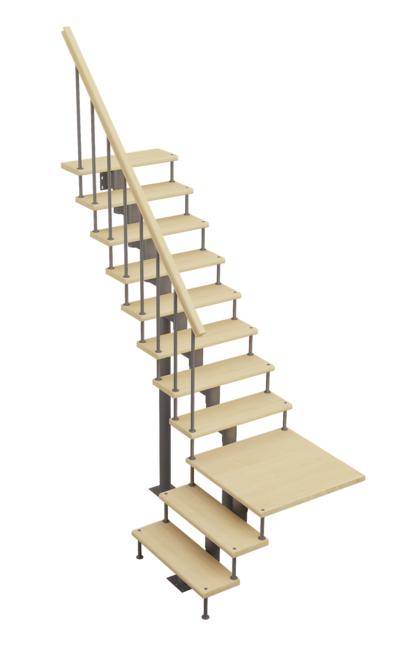 Модульная лестница Статус Классик