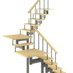 Модульная лестница Комфорт-Классик