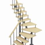 Модульная лестница Фаворит-Классик